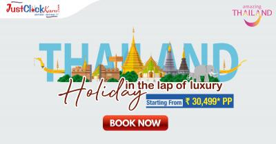 Get best deals on Thailand holiday package - Just Click Travels